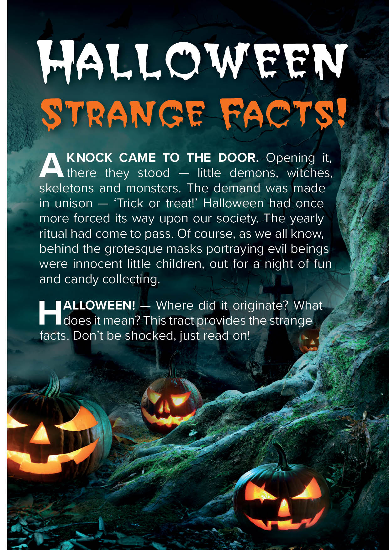 Halloween Strange Facts (25 Pack)